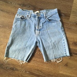 Low rise Gap denim jean shorts